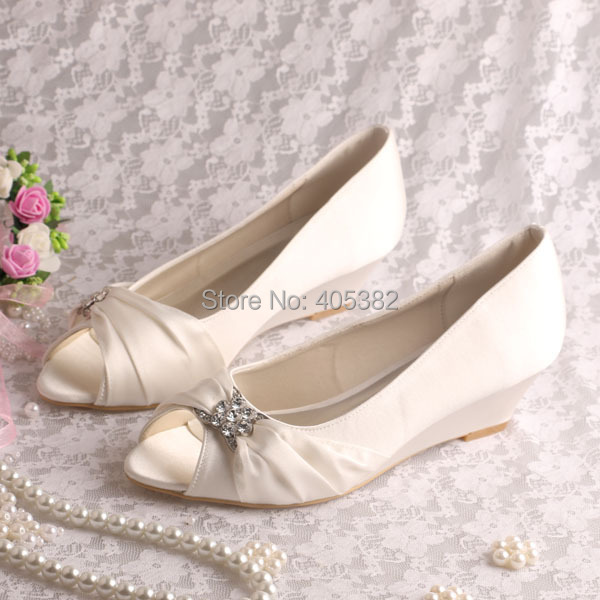 -20-Colors-New-Arrival-Small-Wedge-Heel-Wedding-Shoes