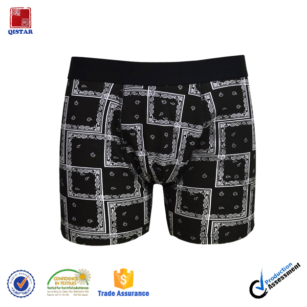 China Factory Directly Sale Mens Cotton Boxer /Breathable Boxer Briefs For Men