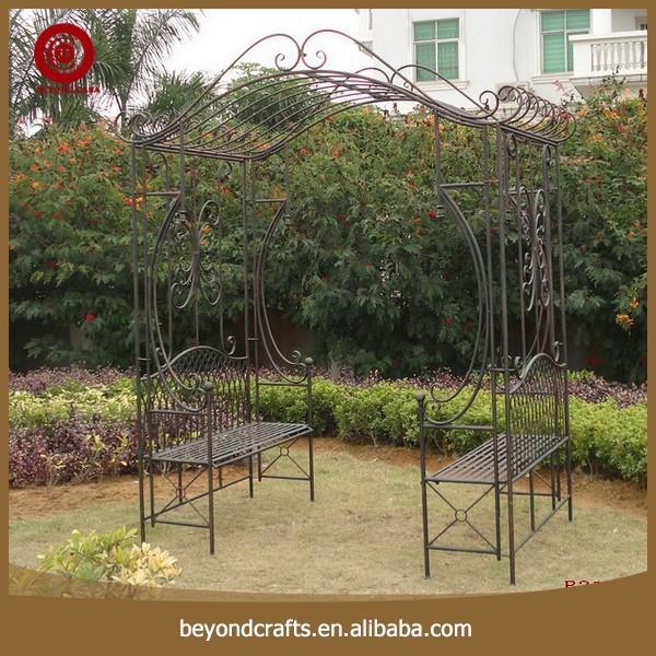 Garden Wrought Iron Gazebo, Garden Wrought Iron Gazebo Suppliers And  Manufacturers At Alibaba.com