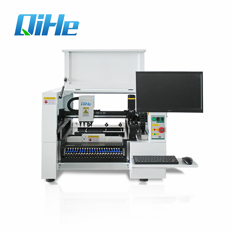 Objective Desktop Low Cost Led Chip Mounter Machine With 64 Feeders+8 Cameras+conveyor Welding & Soldering Supplies Back To Search Resultstools panasonic Servo Motor+straight Guide Rail