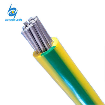 50mm Aluminium Earth Cable Green Yellow Ground Wire, View aluminium ...