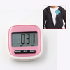 portable clip on step pedometer for walking jogging running distance tracker burned calories counter