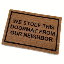 Decorative Custom Coir Door Mats