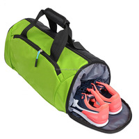 Hot Sport Lightweight Polyester Travel Bag Training Swimming Barrel Gym Duffel Bag