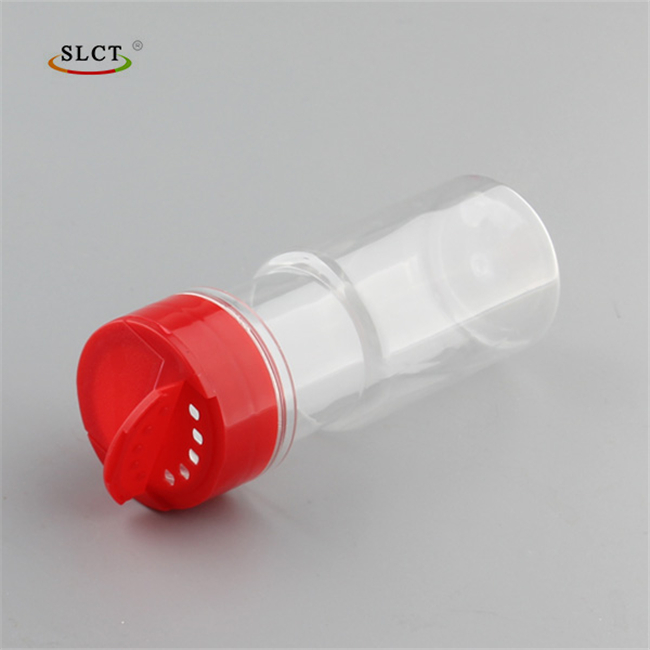 Top quality custom flip cap seasoning plastic restaurant spice bottles for plastic spice jars manufacturer