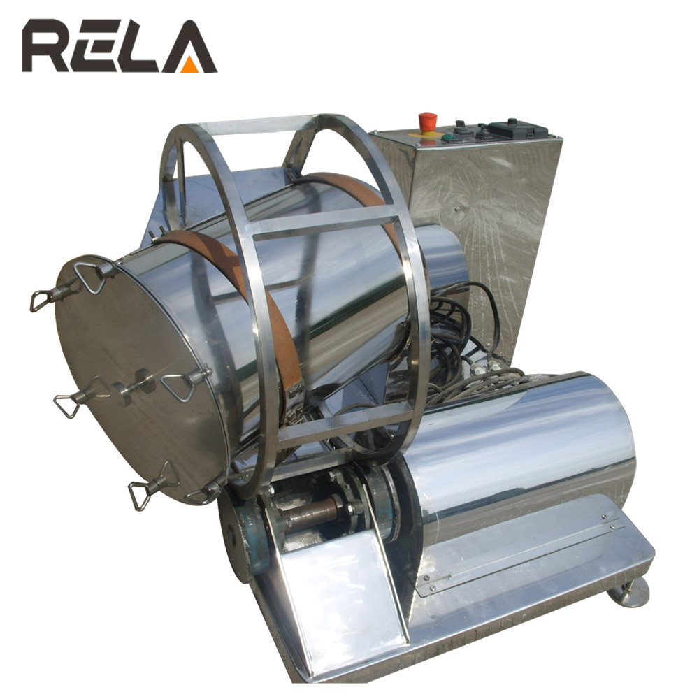 Stainless Steel Food Rotating Drum Mixer Rotary Tumbler Mixer Machine