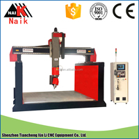 China 5 axis CNC router price/4 axis cnc carving machine for 3d scanner/woodworking equipment cnc router 2015 for statue