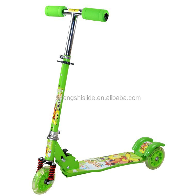 2015 hot sell,125 PVC wheel scooter,Foot pedal kick pushscooter