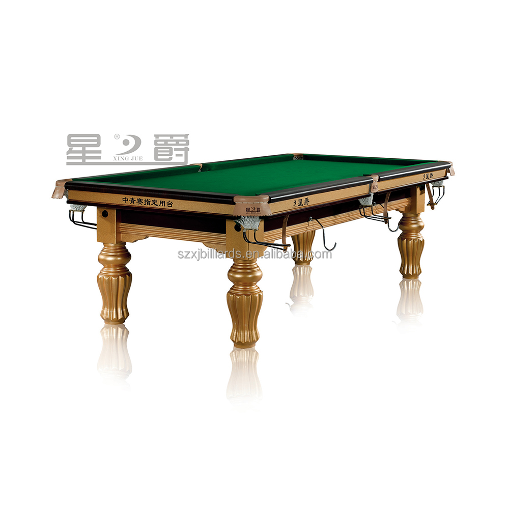 10ft 12ft Snooker Table Pool for Sale Assigned to CBSA China Competition