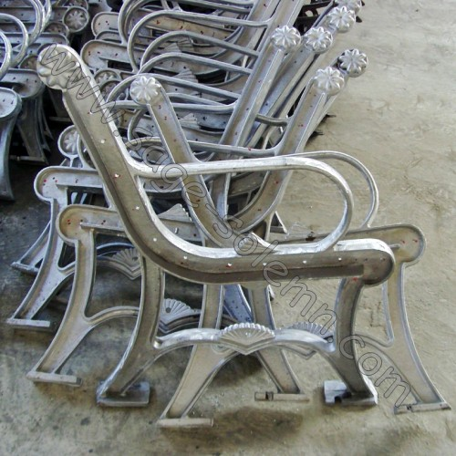 Cast Aluminum Metal Park Bench Leg Buy Bench Leg Cast