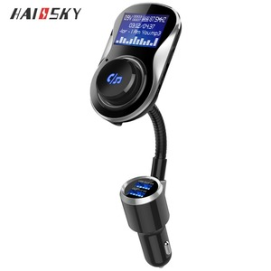 Portable Bluetooth Pioneer Car Audio with FM Transmitter Car FM Bluetooth Transmitter and Receiver for Apple iPhone iPad Android
