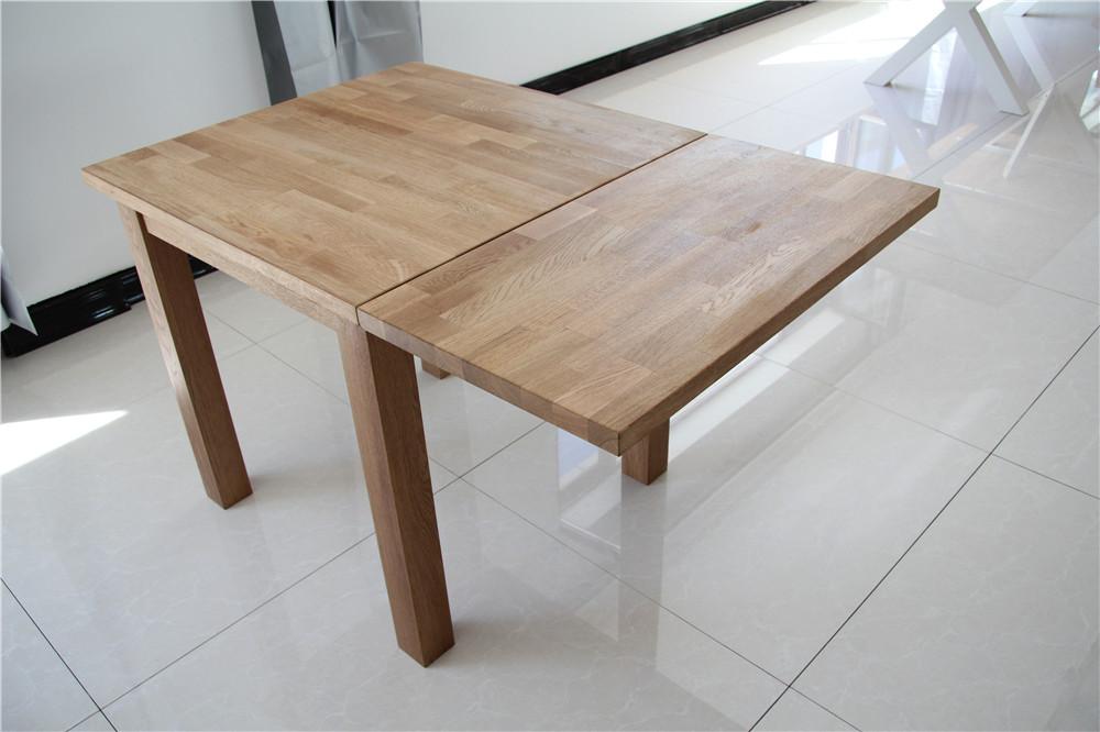 Moderna de madera maciza plegable peque as mesas de for Mesas para espacios pequenos
