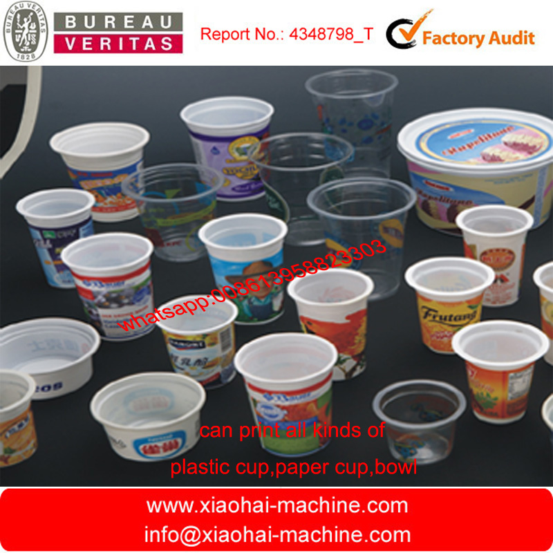 2015 NEW Six color plastic cup printing machine