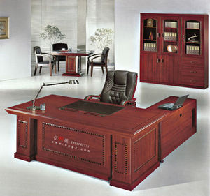 modern office furniture wood veneer desk dubai