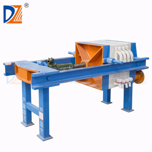 DZ Manual small filter press for granite milling sludge filtering