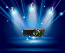 From china gold supplier low cost mini multimedia home cinema used projectors for sale