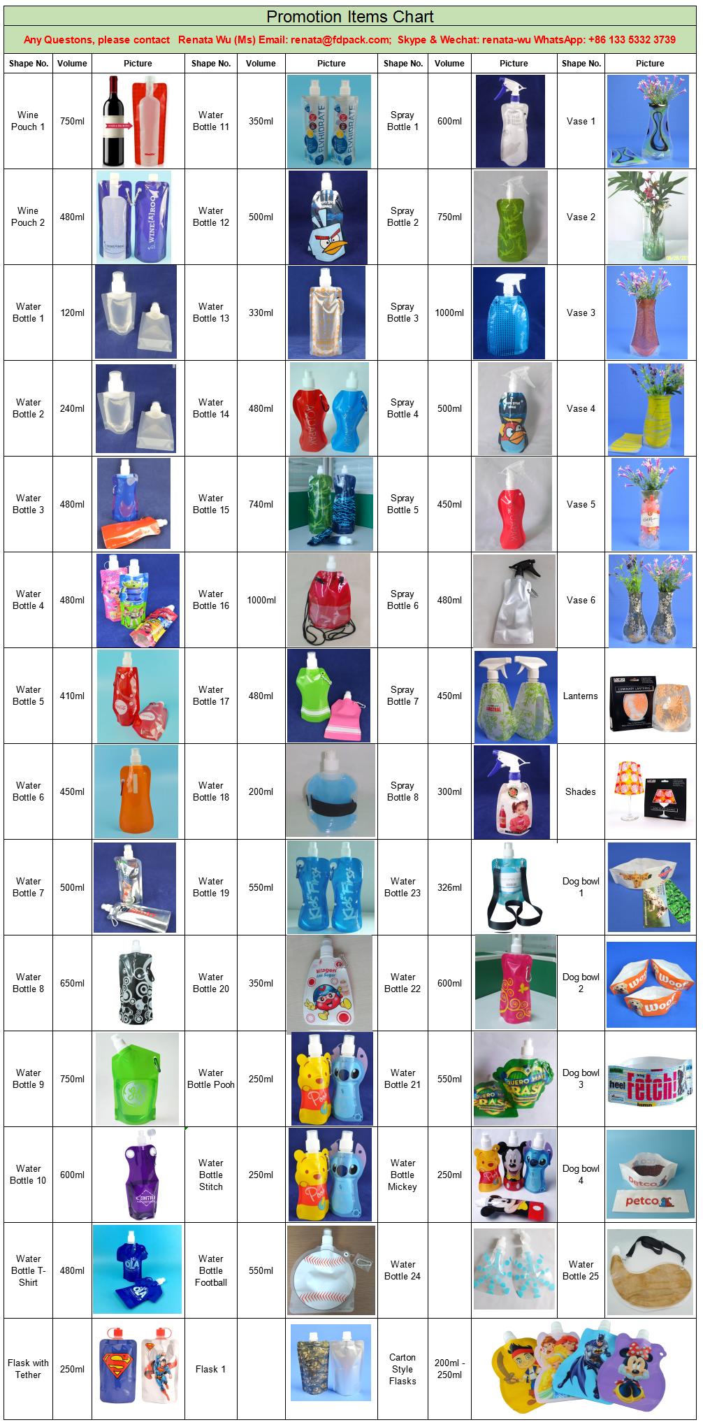 Son Tasarım Plastik Su saplı şişe Içme Buz Tüpü