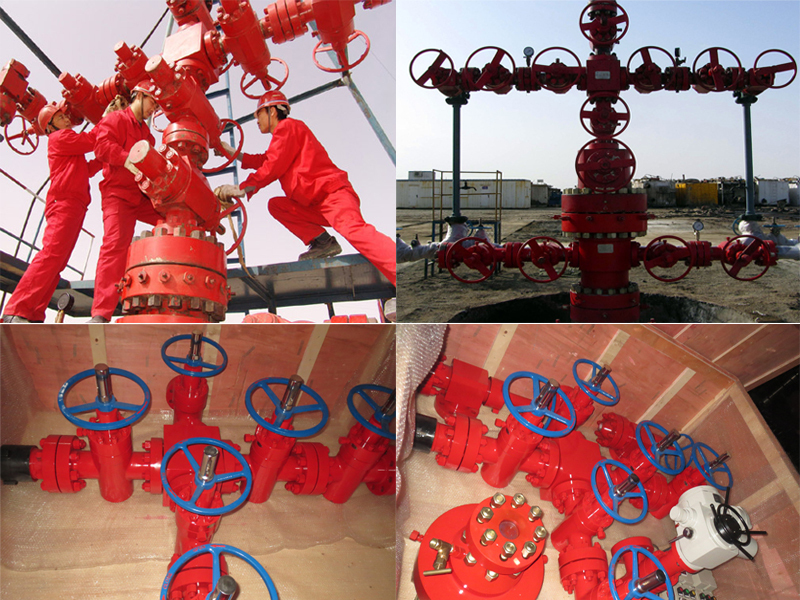 Christmas Tree Wellhead For Electric Submersible Pump
