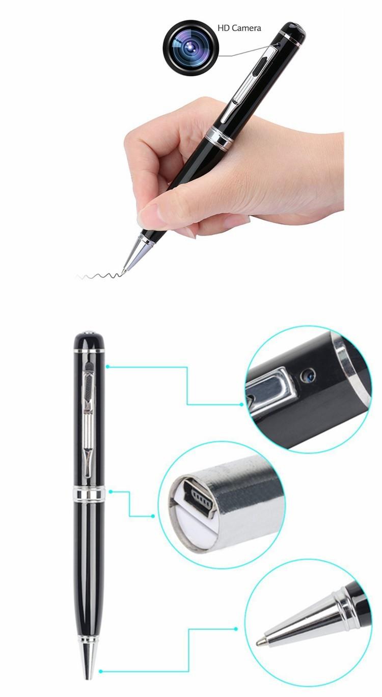 Popular ball Pen digital camcorder 1080P Hidden Spy Cams Camera Full HD