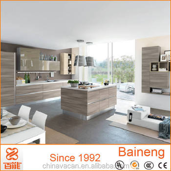 Laminate Grey Melamine Kitchen Cabinet China Kitchen Cabinet Cheap