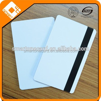 CR80 blank white plastic cards, blank credit cards