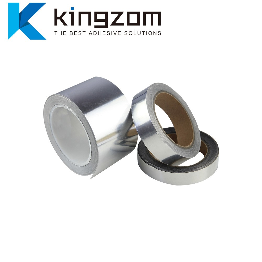 Wide High Temperature Aluminum Foil Tape Shielding Radiation BGA Thermal Paper S