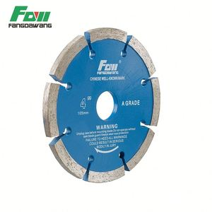 cold or hot pressed diamond reciprocating wheel asphalt saw blade