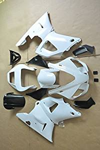 Liquor For Yamaha YZF R1 1998 1999 White Base Color Brand New Motorcycle ABS Plastic Unpainted Polished Needed Injection Mold Bodywork Fairing Kit Set