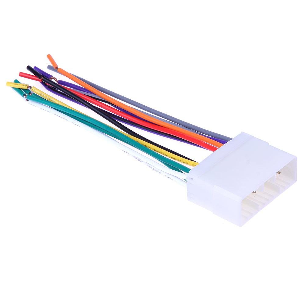 Cheap Wiring Harness Plugs Find Deals On Line Stereo Adapters Get Quotations Car Cd Player Radio Wire Adapter Plug For Chevrolet