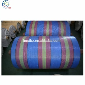 Raw Material PP Woven Bag Fabric Rolls
