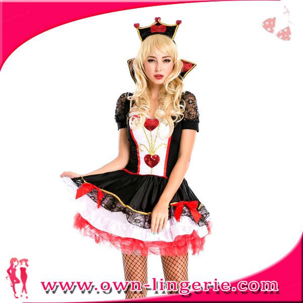 9c8cac074 Vestido Longo Mulheres Rainha Dos Corações Traje De Halloween - Buy ...