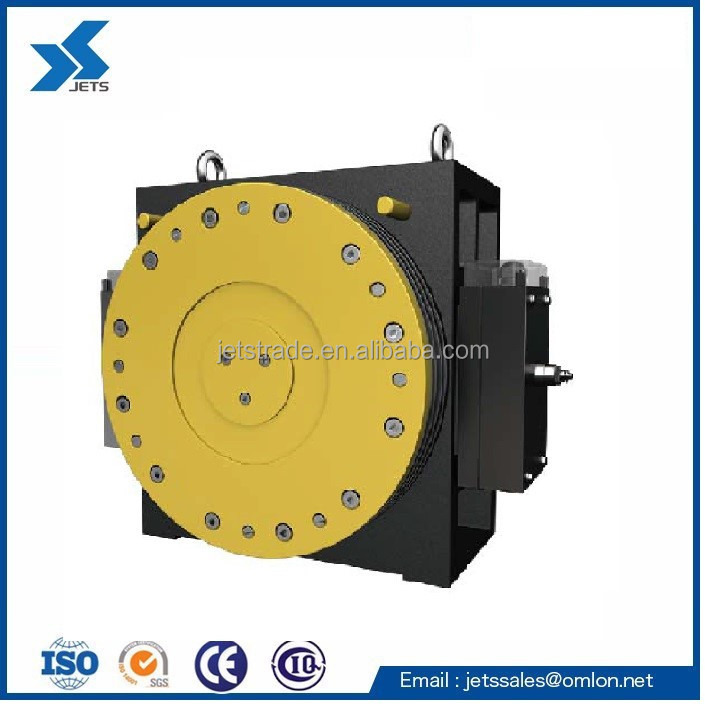 Lift Parts Elevator Gearless Traction Machine GETM1.9