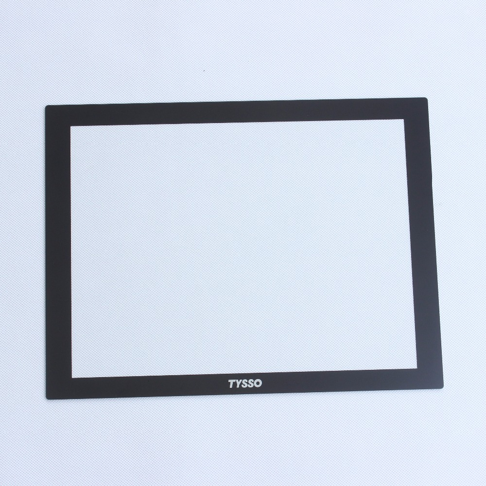 Tempered non-glare for advertaing display screen glass