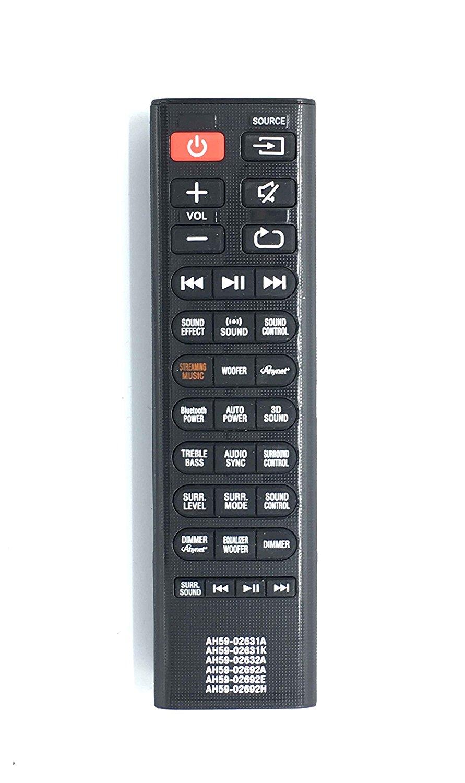 New Replace Remote AH59-02631A AH59-02631K AH59-02632A AH59-02692A AH59-02692E AH59-02692H Fit For SAMSUNG HW-H750 HW-H750/ZA HW-H751 HWH751 HW-J551 HW-JM35 HW-J450 HW- JM6000C Sound bar Home theater