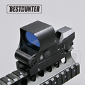 Hunting Riflescope Optics Holographic Green Red Dot Reflex Sight With 4 Various Reticle 21mm Rails Mount