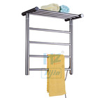 2020 New Yijin Electric Heated Towel Rail Bathroom Accessories Towel Warmer Radiator TW-RD15