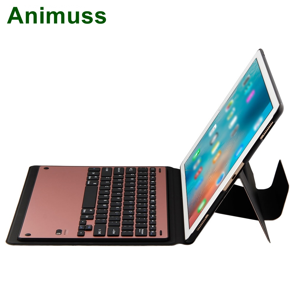 Detachable Ultra Slim Thin Wireless Keyboard Case Stand For <strong>iPad</strong> Pro 12.9