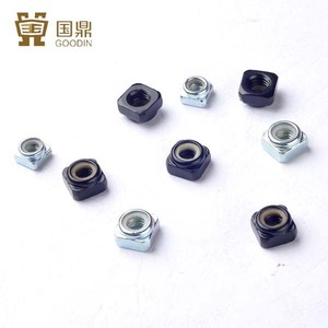 STAINLESS STEEL SQUARE NYLON INSERT LOCK NUTS WITH GOOD QUALITY