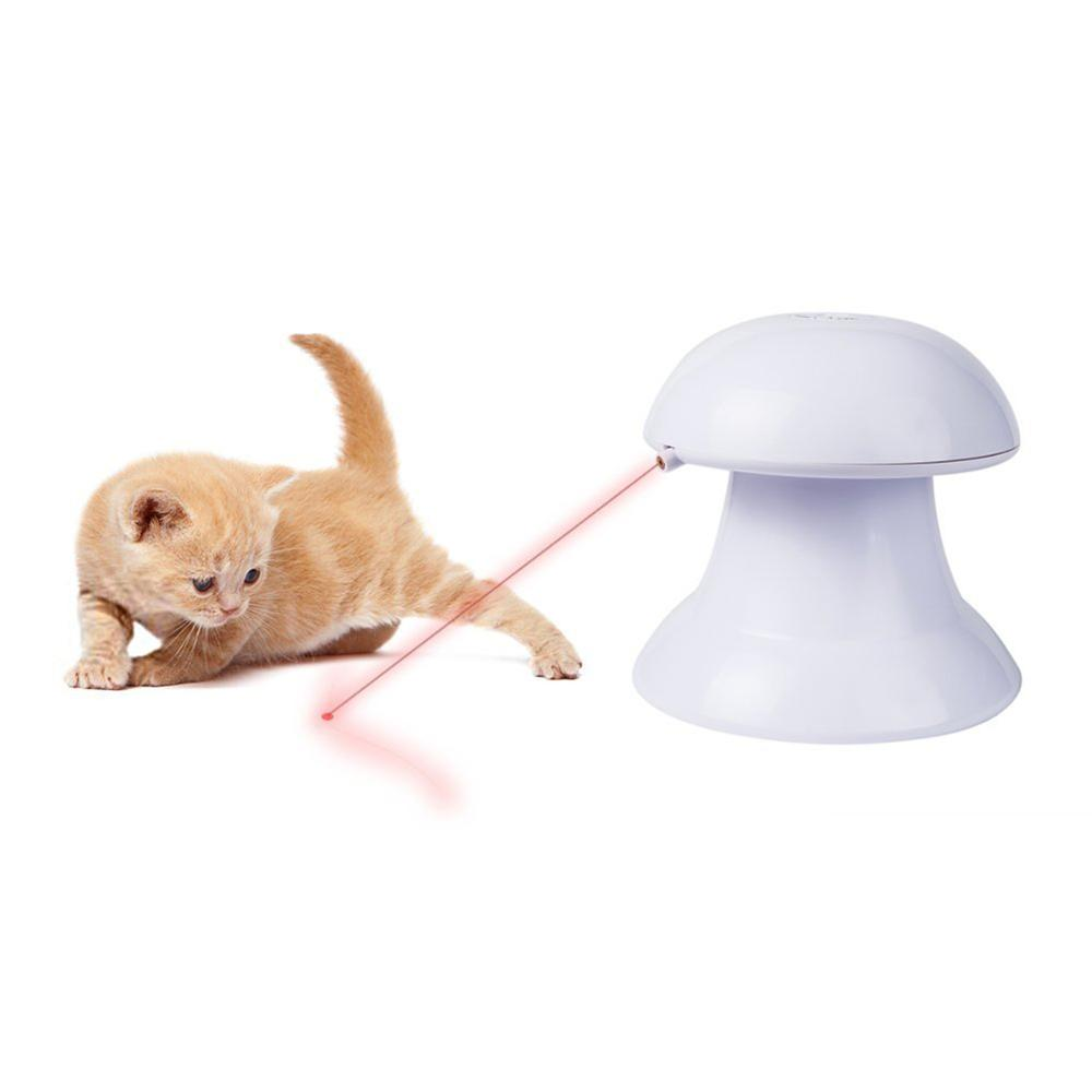 Automatic Rotating Pet Cat Interactive Laser Toy For Wholesale In Factory Price