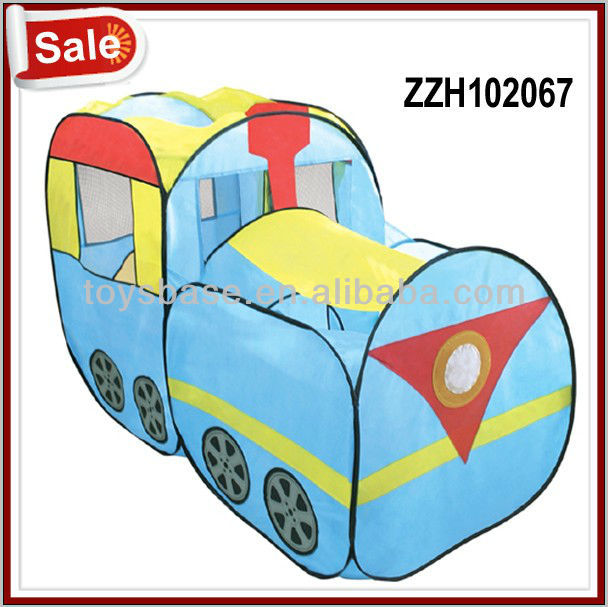 Hot selling kids train tent , playing tent