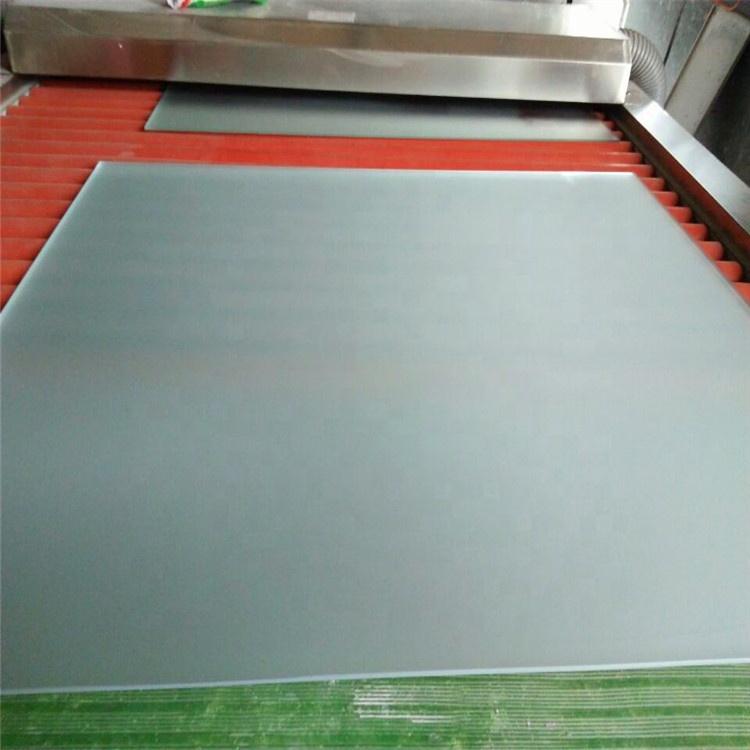 Flat Acid Etch Glass for  interior door, interior partition, etc