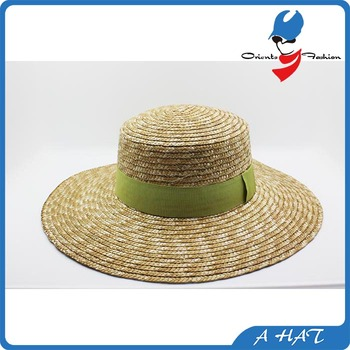 0f2f90624510e promotional straw boater hat wholesale