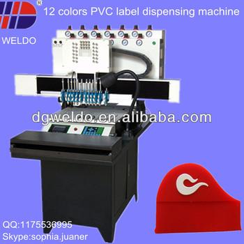 weldo micro injection pvc label machine view pvc label machine