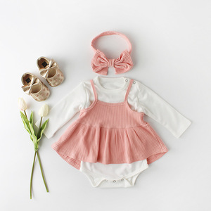 2019 Korean Baby gril Clothing Sets Girls Summer new Style Sweet clothes sets