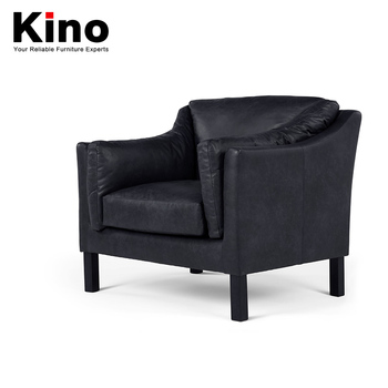 New Style American Countryside Retro Office High Back Chairs Single Black  Leather Sofa Chair - Buy Sofa Chair,Single Sofa Chair,High Back Leather  Sofa ...