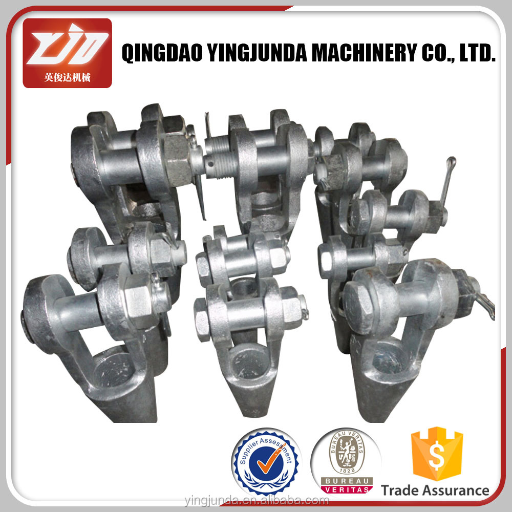 Us Type Wire Rope Sling Grooved Open Spelter Sockets Wire Rope Wedge ...