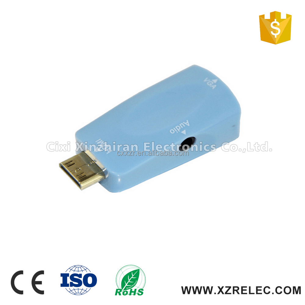 High quality mini vga to hdmi adapter for computer