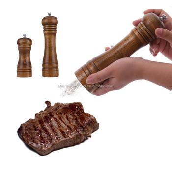 деревянная мельница для перцасоль перец мясорубка наборсоль перец мясорубка Buy гравитация соль и перец мельница наборсоль и перец набордерево