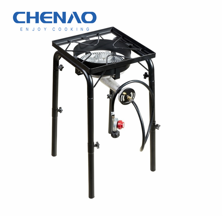 DOUBLE BURNER PORTABLE CAMPING STOVE AND GRILL GAS COOKER STOVE HIGH QUALITY