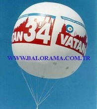 5mt balloon flying sphere, helium balloon